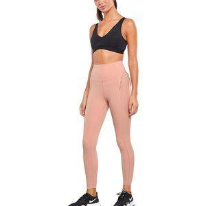 Nike Womens Yoga Statement Legging Pink Size Small